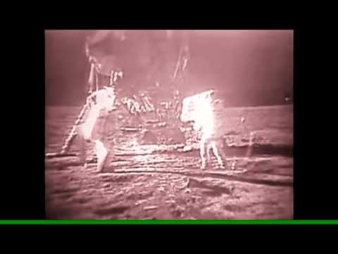Leaked Video Footage ''Neil Armstrong'' Filming Alien Structure On The Moon. Must See!!!