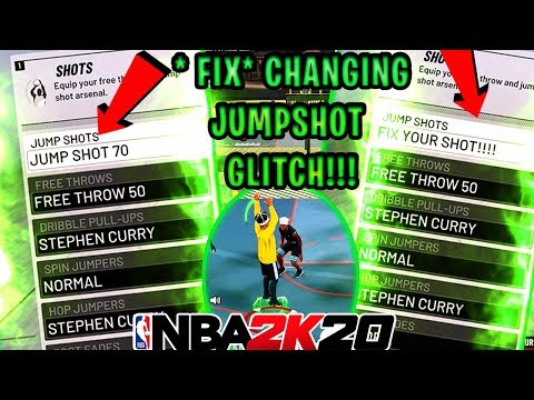 *WORKING* FIX JUMPSHOT 70 GLITCH NBA2K20!! FIX CHANGING JUMPSHOT GLITCH 2K20 BEST JUMPSHOT PATCH 10