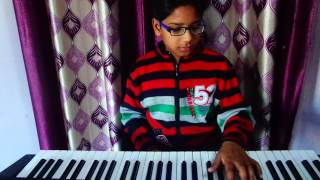 Are re meri jaan he radha tere kurban m radha on piano