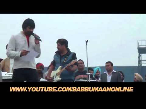 Babbu Maan - Live Show || Guru Nanak Stadium, Ludhiana || CANADA KABADDI CUP