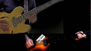 Video Get Back (The Beatles - Guitar & Bass Cover) download MP3, 3GP, MP4, WEBM, AVI, FLV Juni 2018