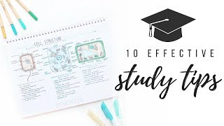 10 effective study tips | studytee