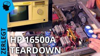 Teardown HP 16500 -Logic Analyzer + Oszi