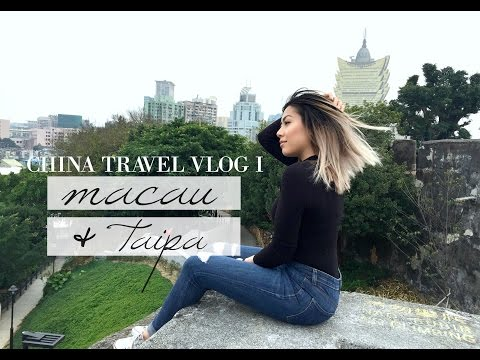 EXPLORING MACAU & TAIPA | China Travel Vlog I