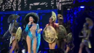 "CHER ""Strong Enough"" Live Classic Cher Vegas Feb. 11th 2017"