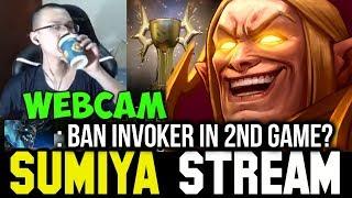 Don't Ban my Invoker! Battle Cup Champ 😉 Sumiya Facecam Invoker Stream Moments #53 Dota 2