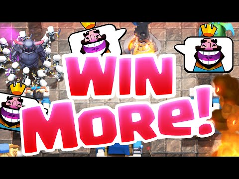 Clash Royale Strategy - YOU Can WIN More Battles in Royale!