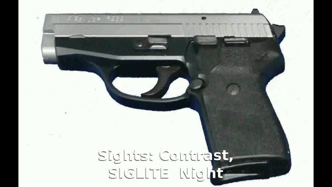 Sig Sauer P239 357 Sig Pistol Features Info