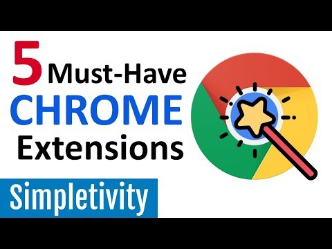 5 Must-Have Chrome Extensions (Google Browser Add-Ons 2018) Mp3