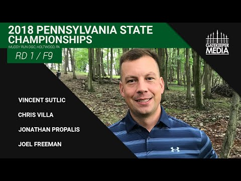 2018 Pennsylvania State Championships | RD1, F9 | Sutlic, Villa, Propalis, Freeman