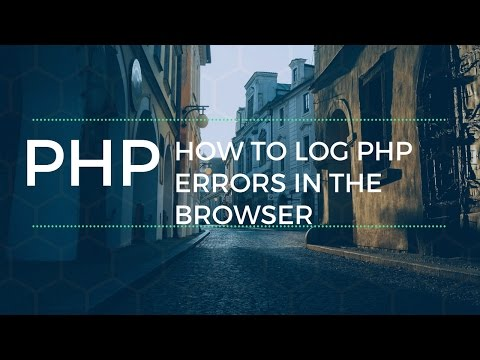 Logging PHP Errors In Browser MAMP Php Ini File