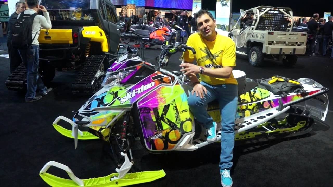 2015 skidoo reveal wraps from scs youtube
