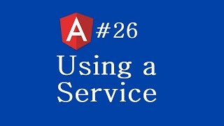 angular 2 tutorial 26 using a service