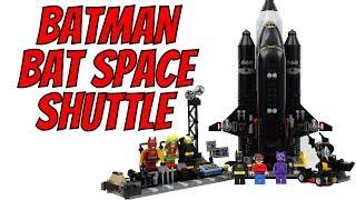 2018 LEGO Batman Movie Bat-Space Shuttle 70923 Review!