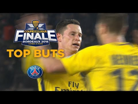 Top buts PSG - Coupe de la Ligue 2017/2018
