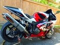 Honda RC51 SP2 with Full Akrapovic Titanium