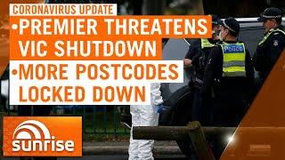 Coronavirus Update: Victorian Premier Daniel Andrews threatens statewide shutdown | 7NEWS