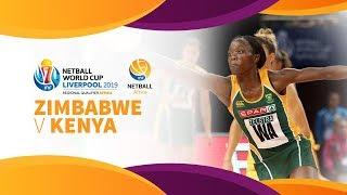 Zimbabwe v Kenya | Africa Netball World Cup Qualifiers | Day 5