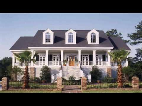 Southern Colonial House Style Characteristics