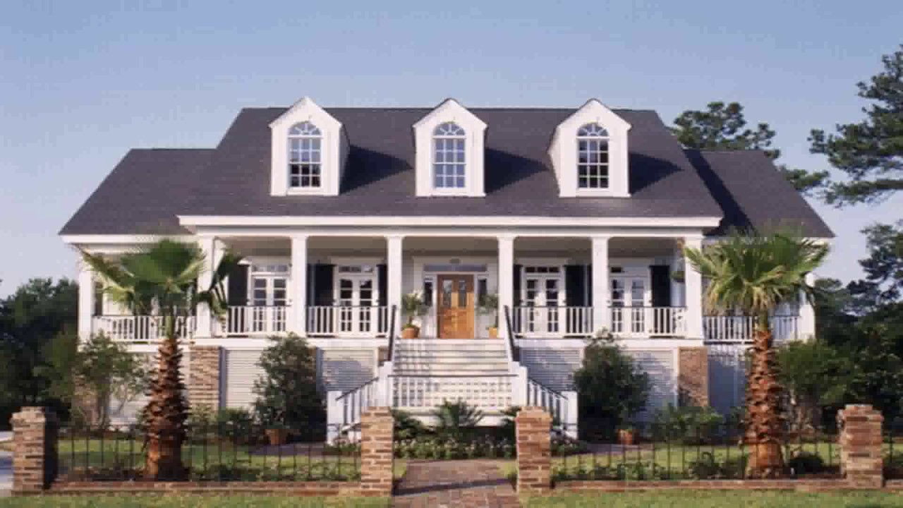 Southern Colonial House Style Characteristics YouTube