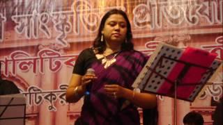rakhi dutta play back singer sathi sad omtv