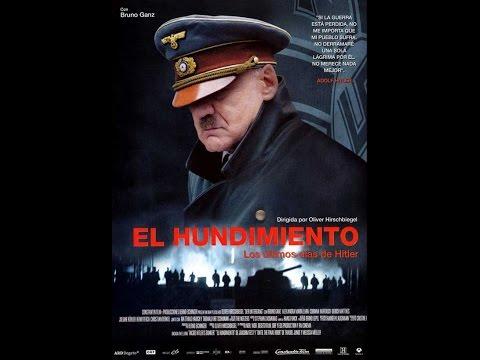 La caída (2004) HD audio Alemán subtitulada en Español, Ingles y Aleman