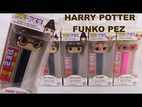 Harry Potter S1 LUNA LOVEGOOD Funko POP PEZ Dispenser New