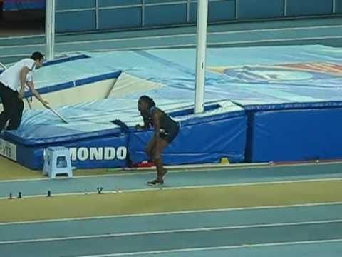 Brittney Reese - long jump 7.23m - Istambul 2012 - gold medal jump