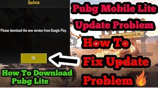 How To Fix Pubg Mobile Lite Update