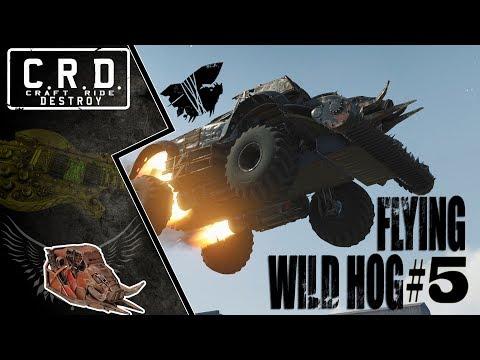 Crossout: [ Tusk & Harvester ] FLYING WILD HOG #5 [ver. 0.9.60]