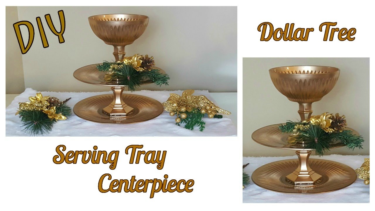 Diy Dollar Tree Gold 3 Tiered Stand Tutorial Christmas Appetizer Home Decor Craft