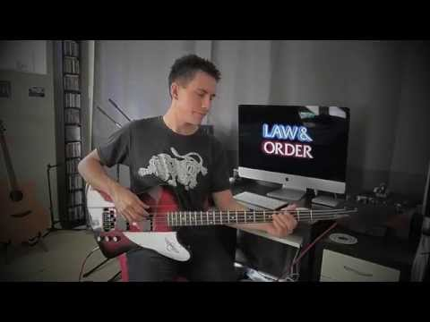law-and-order-intro-theme-on-bass-guitar