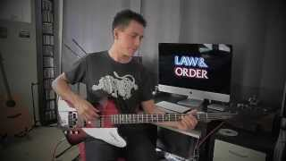 Law and Order Intro on Bass Guitar