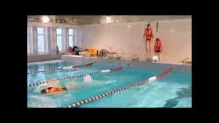 Обучение спасению на воде часть 3
