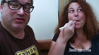Osaka Street Food is awesome. Join Mindi and Daryl as they eat tako...