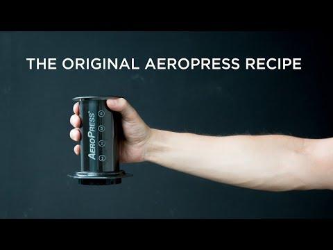 The Original AeroPress Recipe by Alan Adler   ECT Weekly #027