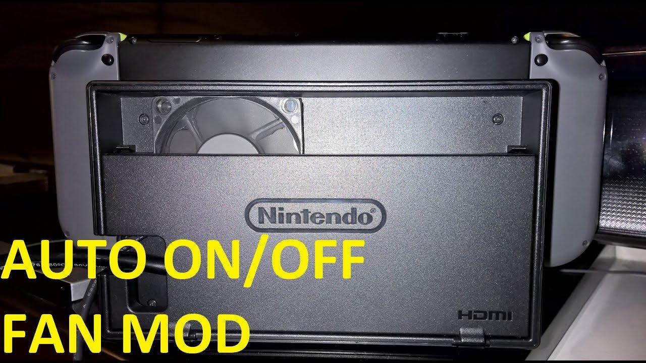 Ultimate Switch Dock Fan mod