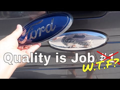 2011 Ford F-150 EcoBoost 7 Year Review as I fix the tailgate emblem