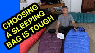 How to Choose a Sleeping Bag - 12 Considerations for Backpackers, Explorers, Climbers