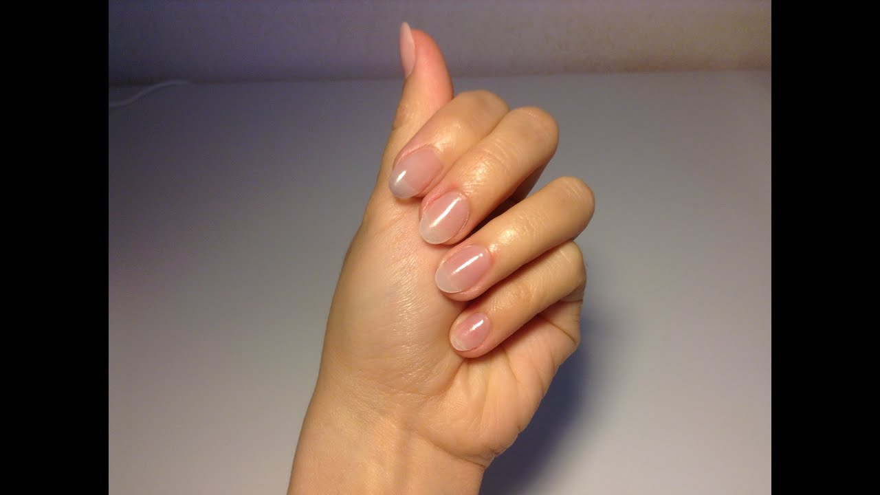 Acrylic Nails- how to extend short nails as natural nail - YouTube