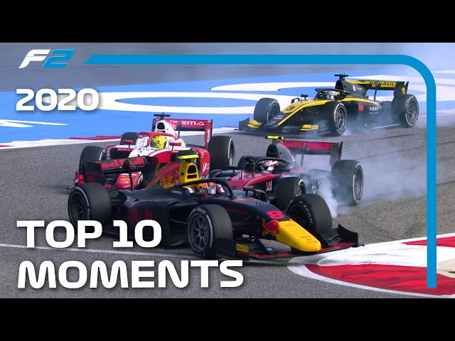 Formula 2: Top 10 Moments Of 2020 Season