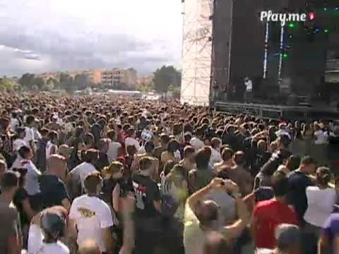 Fabri Fibra feat Marracash QUALCUNO NORMALE Live @ Woodstock 5 Stelle
