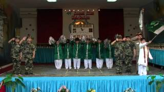 Medley National Songs, Annual Day 2016, Pakistan International School, Al Khobar