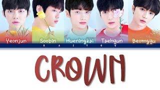 Download TXT -  CROWN (어느날 머리에서 뿔이 자랐다)- (Indo/Rom/Han/가사 Color Coded Lyrics) Sub Indo || Baeyou Mp3
