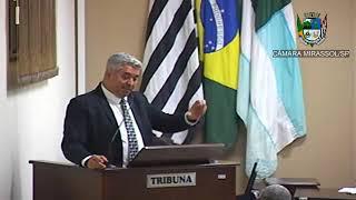12ª Sessão Ordinária - Vereador e presidente Marcão Alves