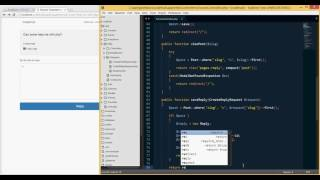 PHP/Laravel - Building a forum like website from scratch (tut 17)