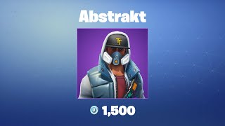 Abstract | Fortnite Outfit/Skin