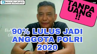 Download lagu 90%  lulus menjadi anggota Polri 2020, tanpa uang !
