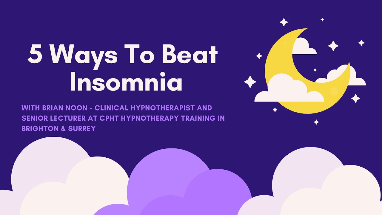 5 Ways To Beat Insomnia