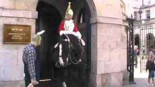 The Anti Easter Bunny at Horse Guards Parade